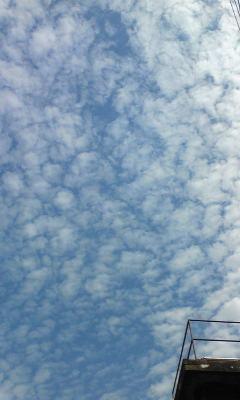 今日の雲☆
